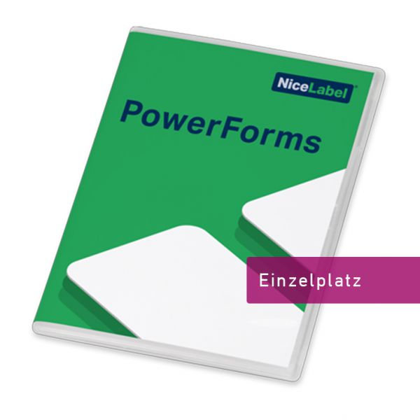 Nicelabel 2019 PowerForms